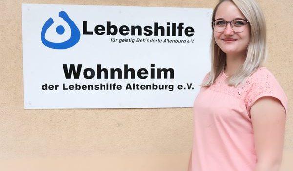 Wir begrüßen Frau Sina Heimer als neue Mitarbeiterin in der besonderen Wohnform Schmölln.